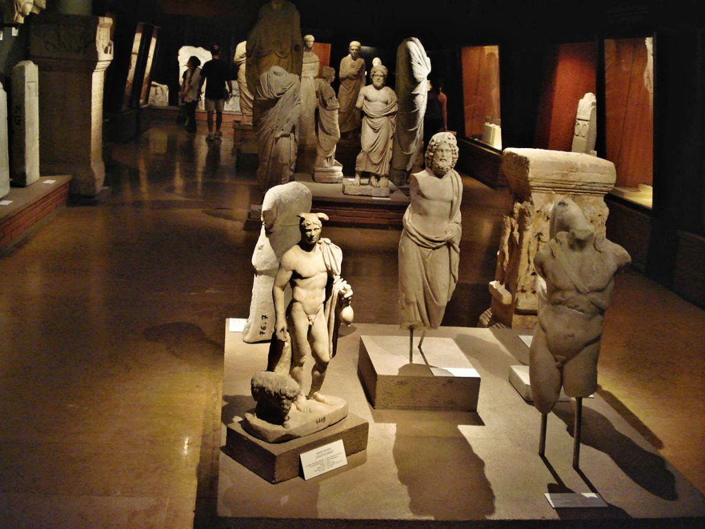 Ancient Greek exhibition in Istanbul Archaeology Museums, Turkey