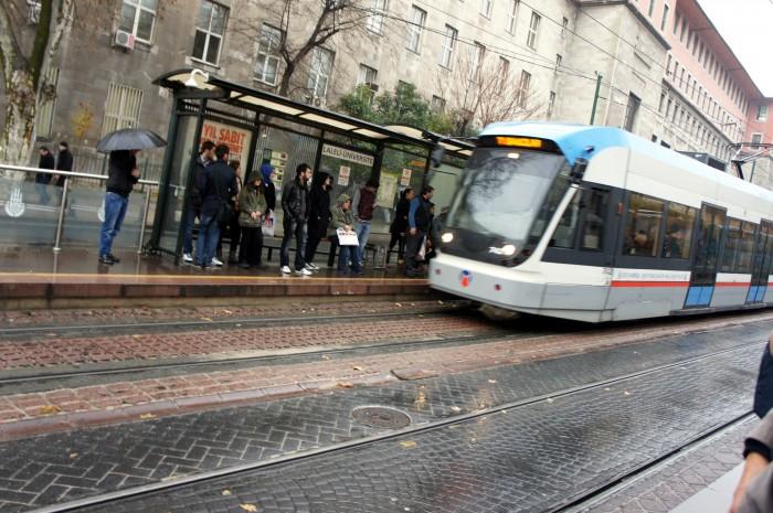 Скоростной трамвай в Стамбуле