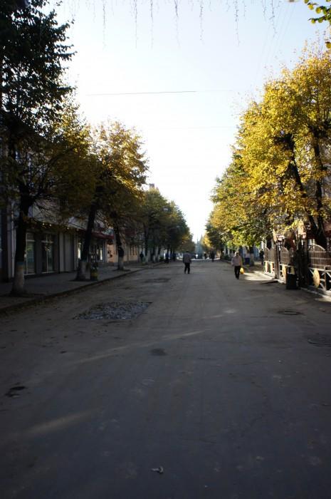 Центральная пешеходная улица Житомира