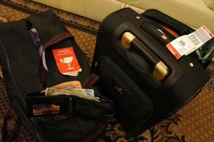 Это не постановочное фото. Именно так выглядел мой кошелёк после посещения Стамбула в первый раз...