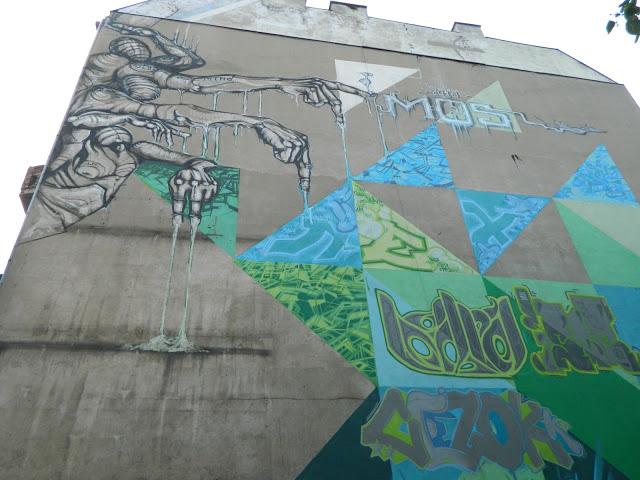 Граффити во Вроцлаве
