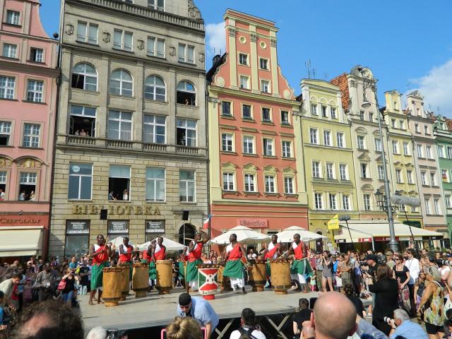 Барабаны во Вроцлаве