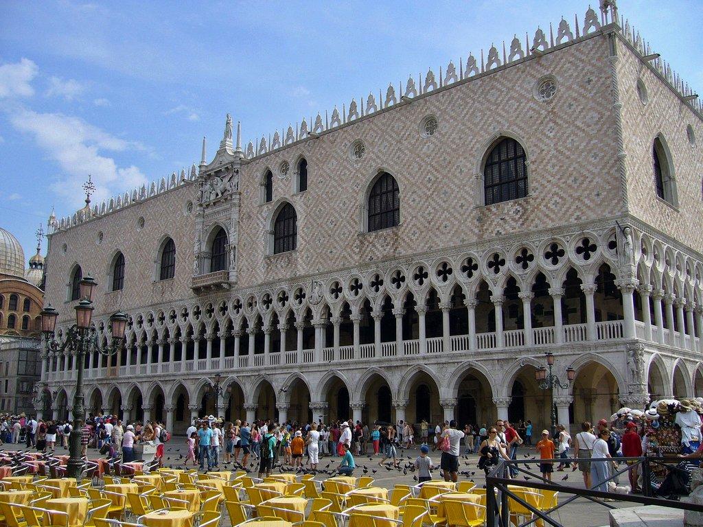 Doge's Palace, Venice, Veneto, Italy
