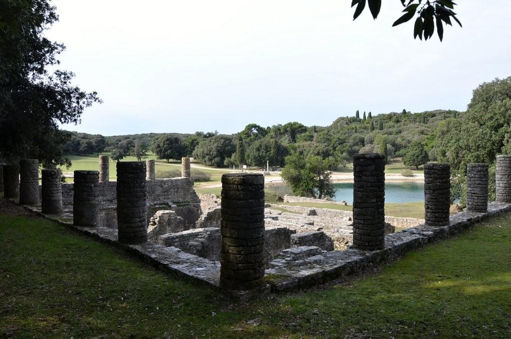 Roman Villa in the Bay of Verige, Brijuni Islands, Croatia's National Parks
