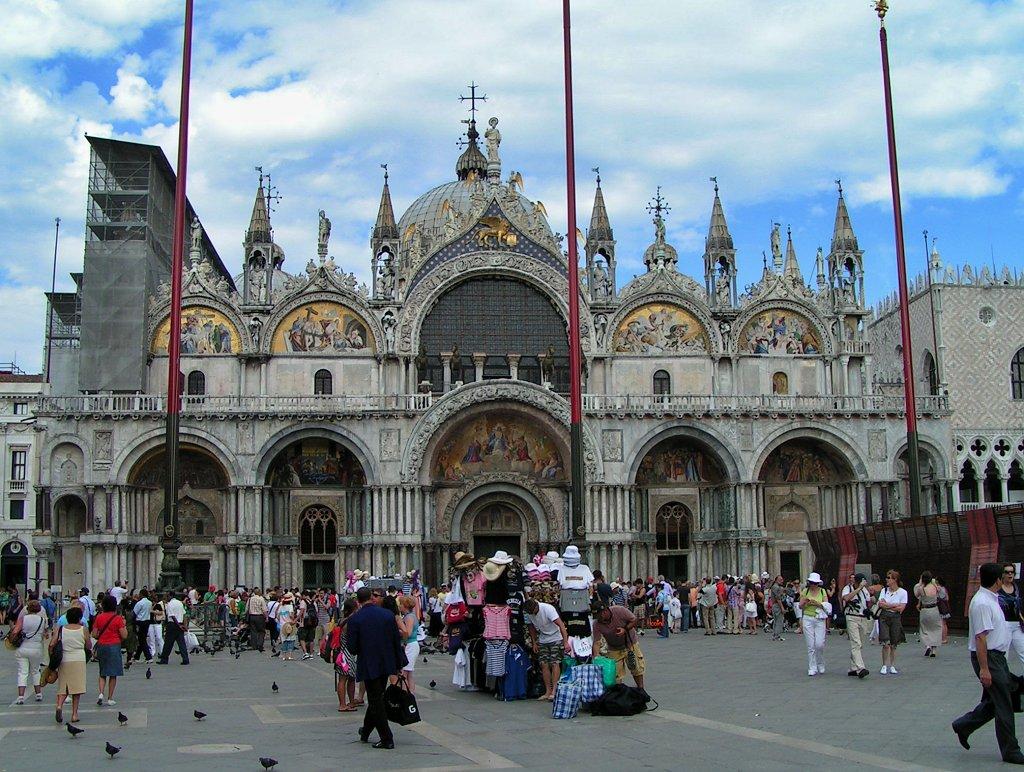 St Mark's Basilica in Venice, Veneto, Italy
