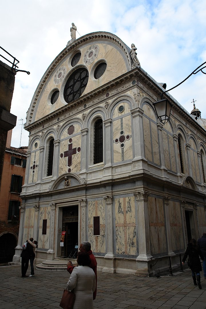 Church of Santa Maria dei Miracoli, Venice, Italy