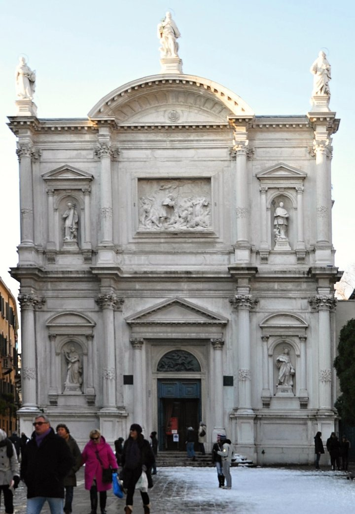 San Rocco Church, Venice, Italy