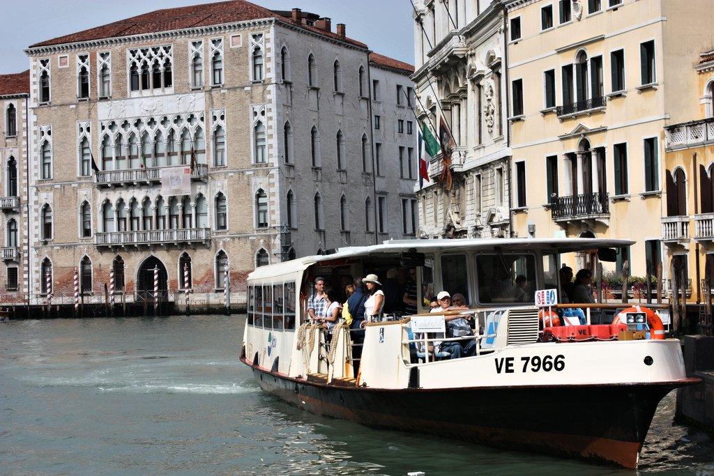 Vaporretto, Venice, Italy