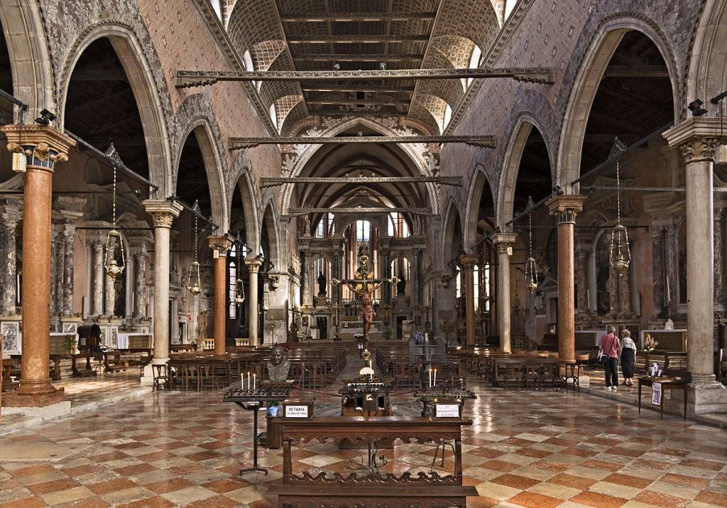 Church of Santo Stefano, Venice, Italy