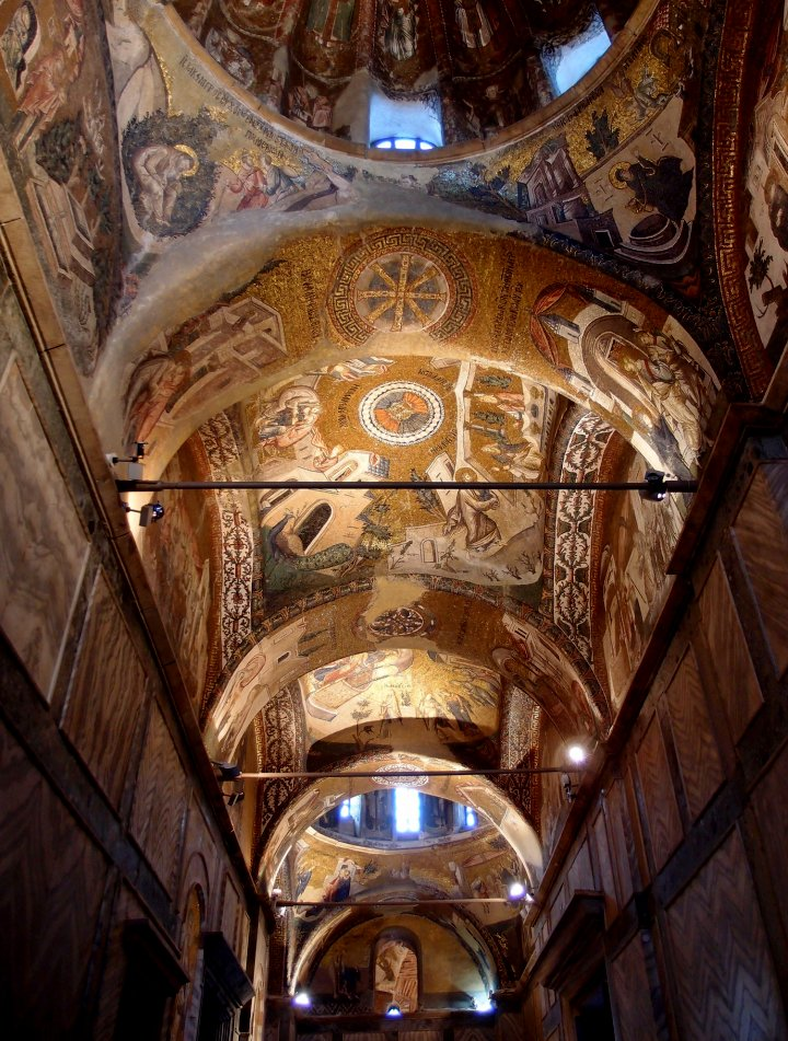 Chora Church – interior, Istanbul, Turkey