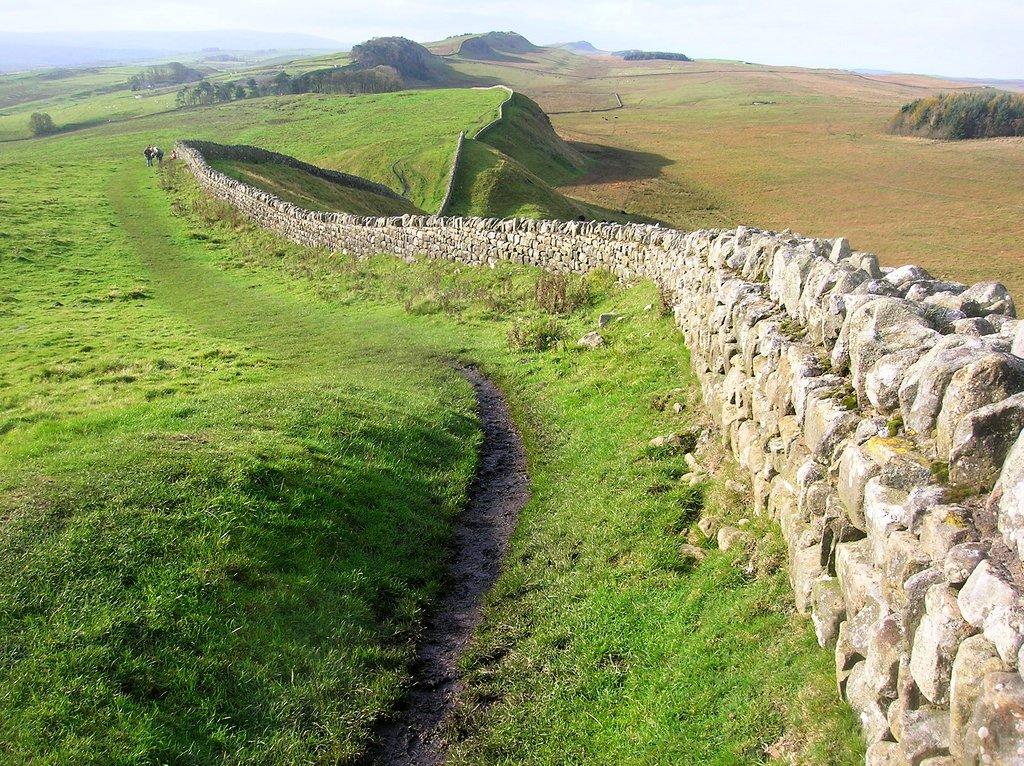 Hadrian's Wall, England, UK
