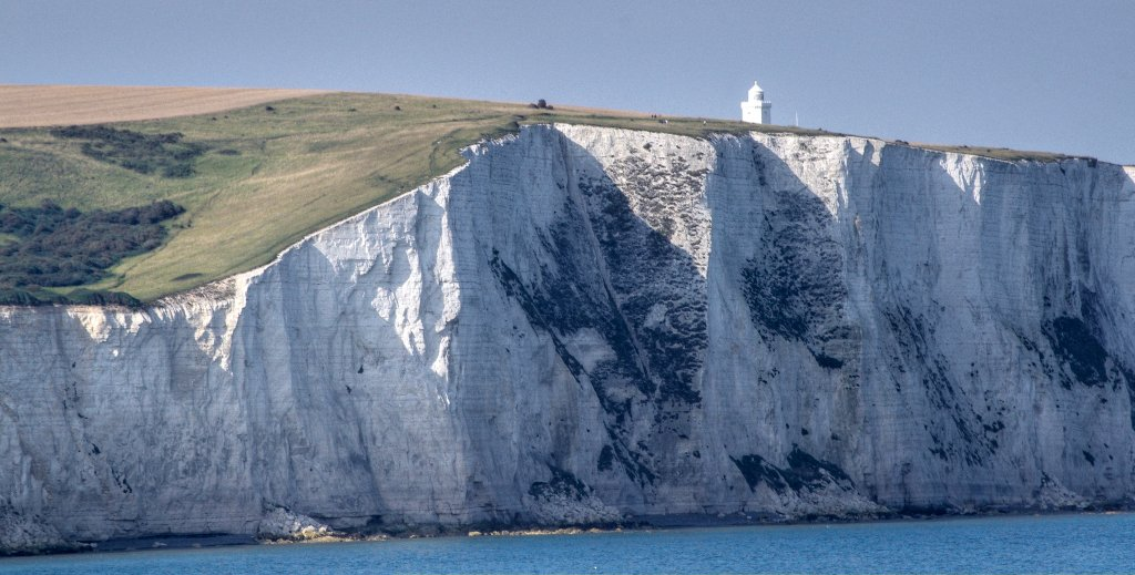 The White Cliffs of Dover, England, UK